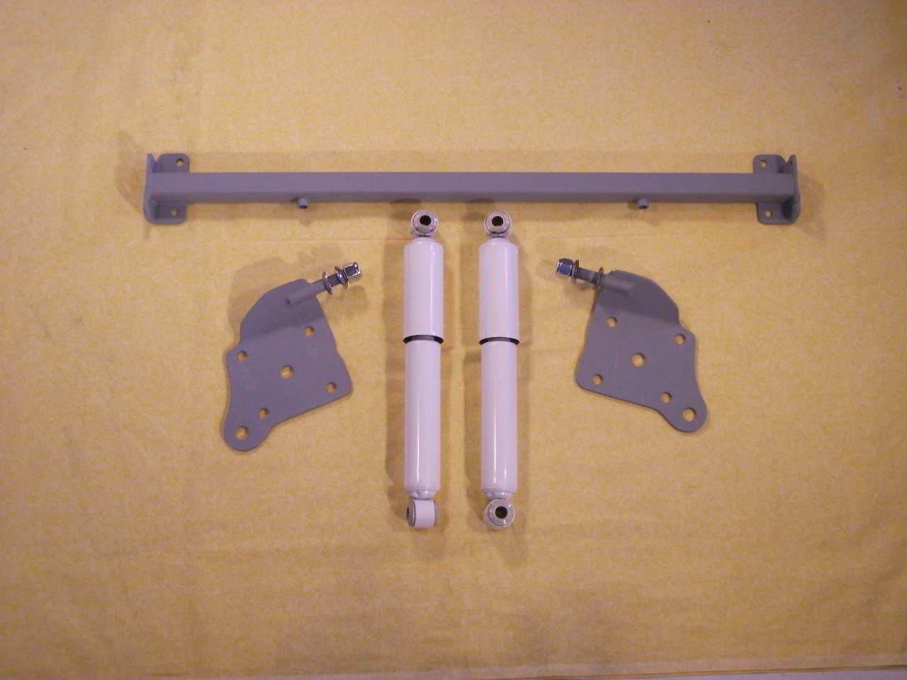 1952-1954 Ford Crestline Rear Monroe Matic Plus Gas Shocks Absorbers Made USA