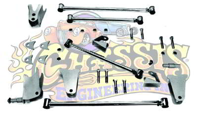 AR-24318 Triangulated 8 inch Rear 4-Link for 1928-1931 Ford