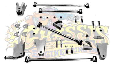 AR-24319 Triangulated 9 inch Rear 4-Link for 1928-1931 Ford