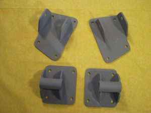 AS-1019 Leaf Spring Rear End Mounting Kit for 1941-1948 Chevy
