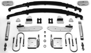 AS-2012C8 Complete Leaf Spring 8 inch Rear End Mounting Kit for 1933-1934 Ford (Bolt-on)