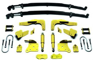 AS-2014C Complete Leaf Spring Rear End Mounting Kit for 1935-early 1936 Ford