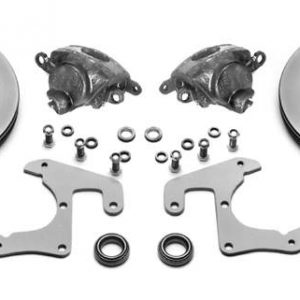 AU-2050CC Complete Disk Brake Kit 37-48 Ford Car 37-41 Ford Truck (Stock Spindles, Chevy Bolt)