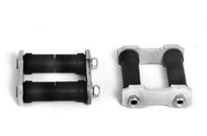 AU-2214 Rear Spring Shackles  2 1/2 inch