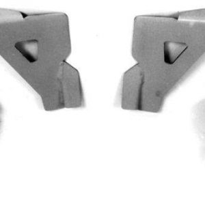 AU-2250D Radiator Mounts for 1939-1940 Ford (IFS)