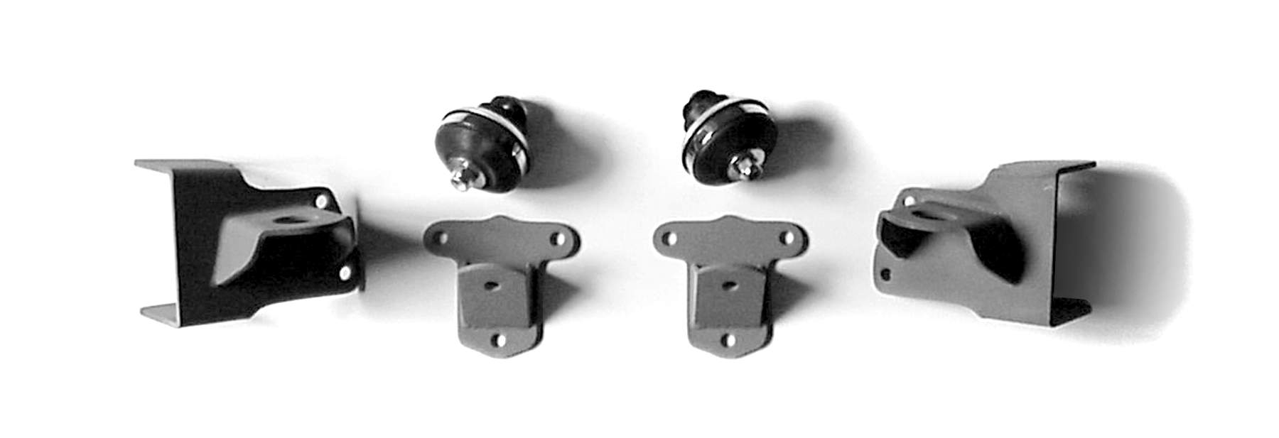 1940 Chevy Small Block Chevy Engine Mounting Kit, Solid Axle
