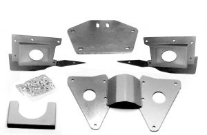 ES-2167OD Center Tunnel Clearance and Transmission Mounting Kit for 1937-1940 Ford (T700R4 OD,IFS)