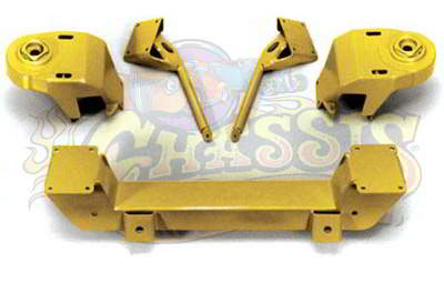 IF-3739CP Bolt-On Pinto-Mustang II IFS Kit for 1937-1939 Chevy