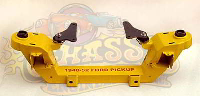 IF-4852FPT Bolt-On Pinto-Mustang II IFS Kit for 1948-1952 Ford Pickup Truck with Manual Rack
